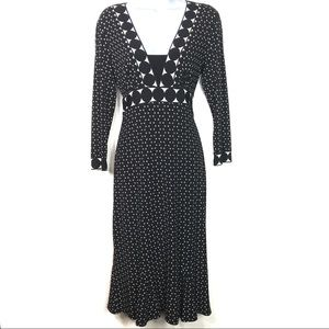 Donna Morgan Trumpet Flare Dress 10